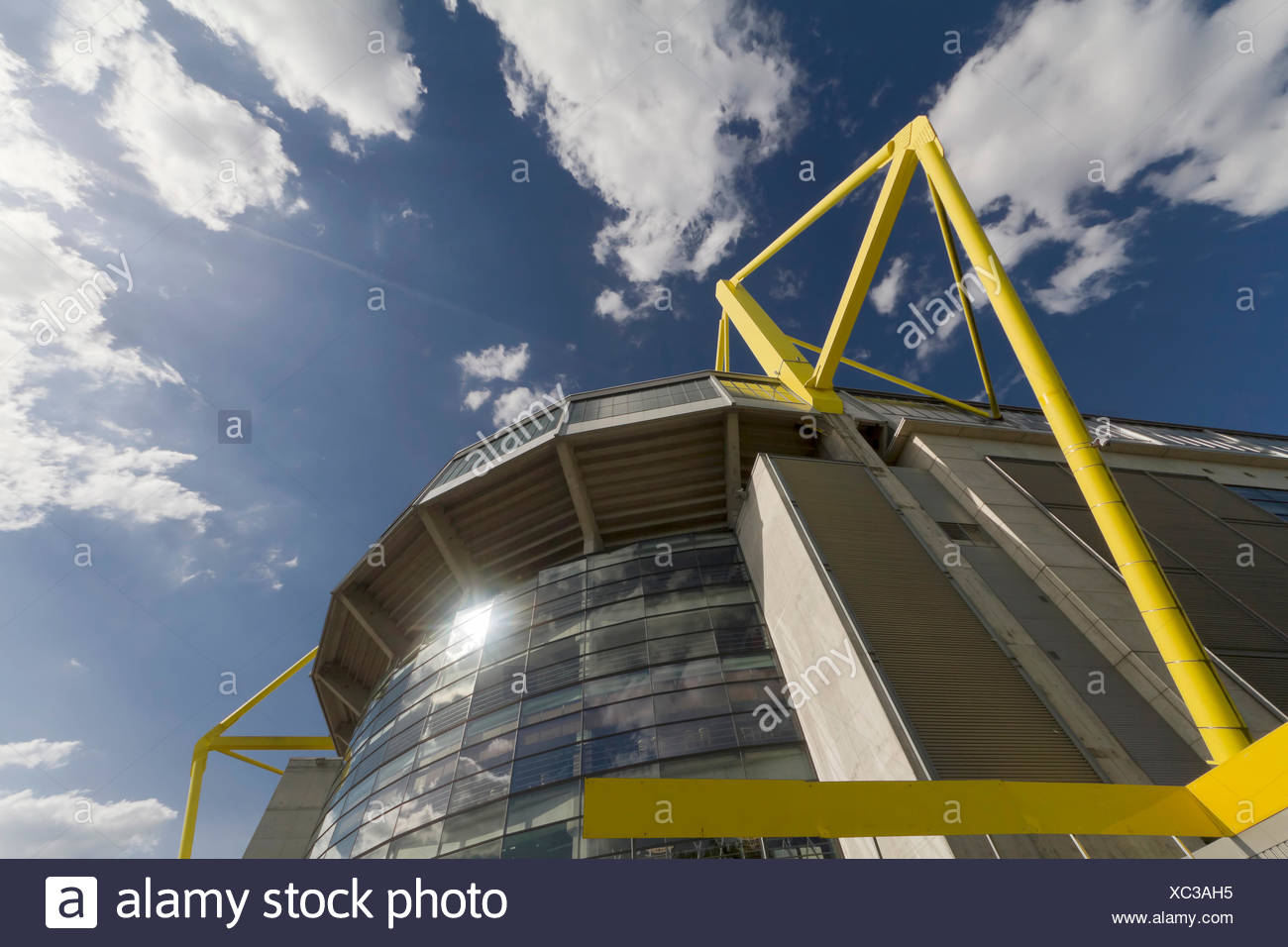 facade stadium motion - Stock Image