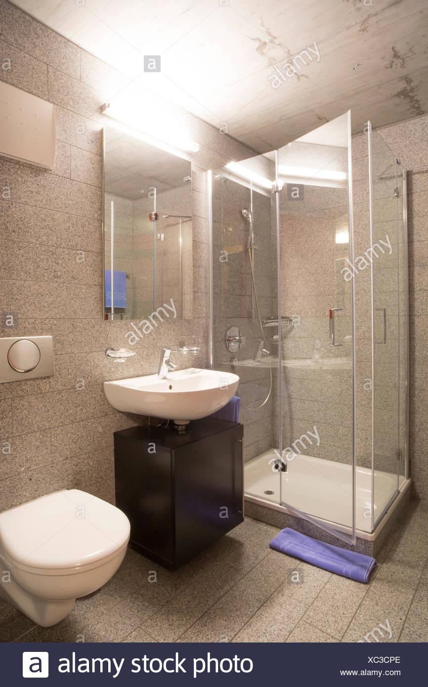 Room at hotel Inn Lodge, - Stock Image