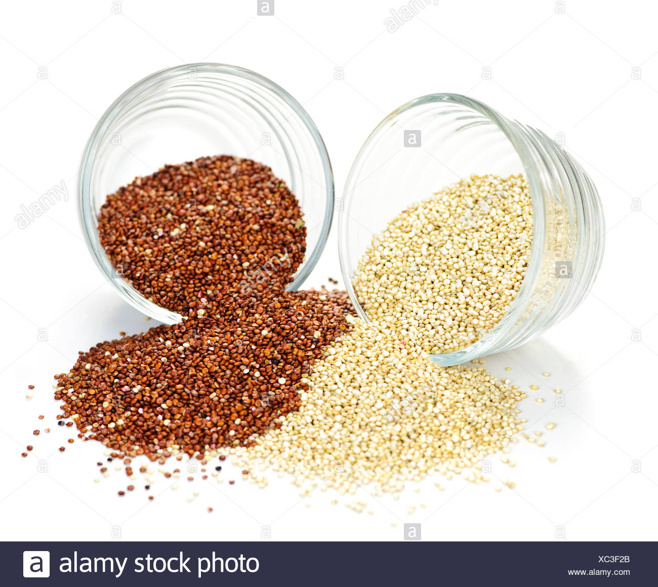 grain vegetarian emblements - Stock Image