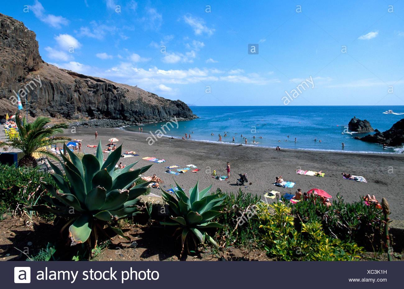 Prainha Beach, Ponta de Sao Lourenco, Madeira, Portugal, Europe - Stock Image