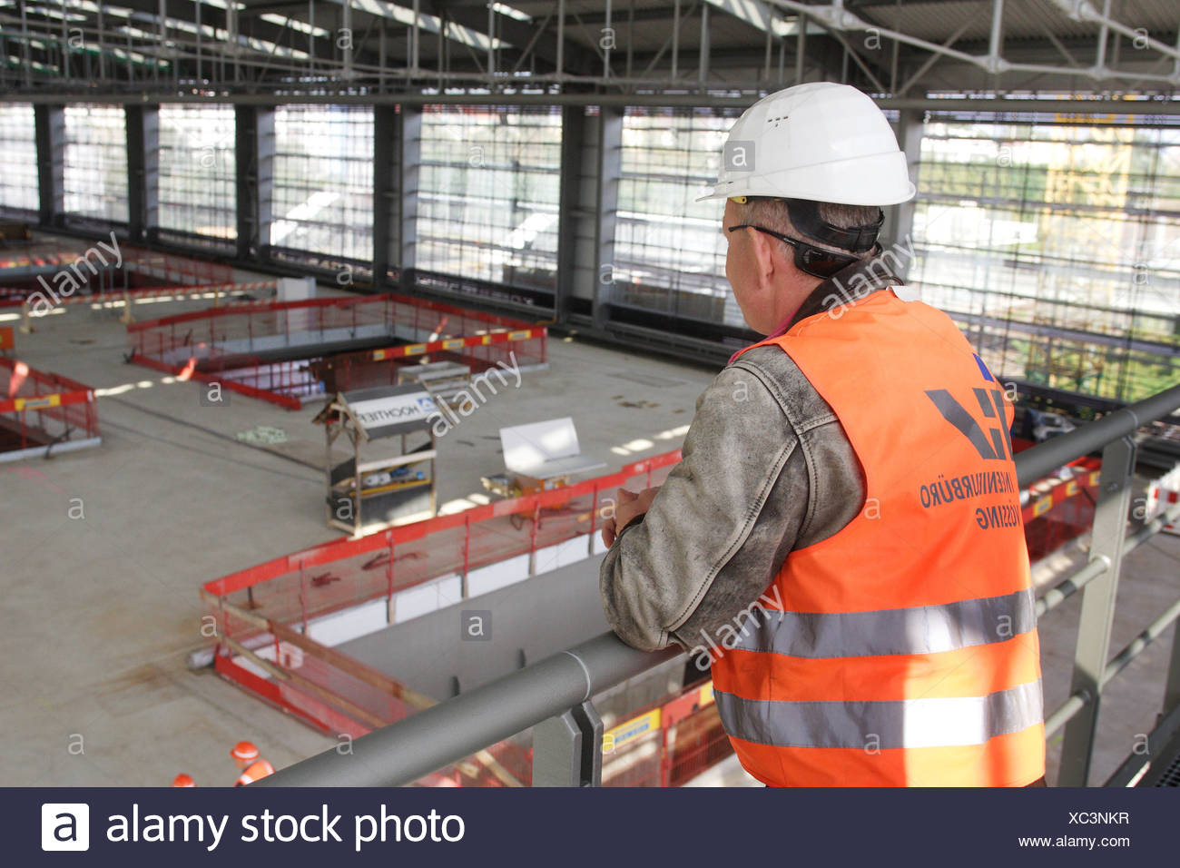 Berlin, Germany, builders considered the new concourse at Ostkreuz - Stock Image