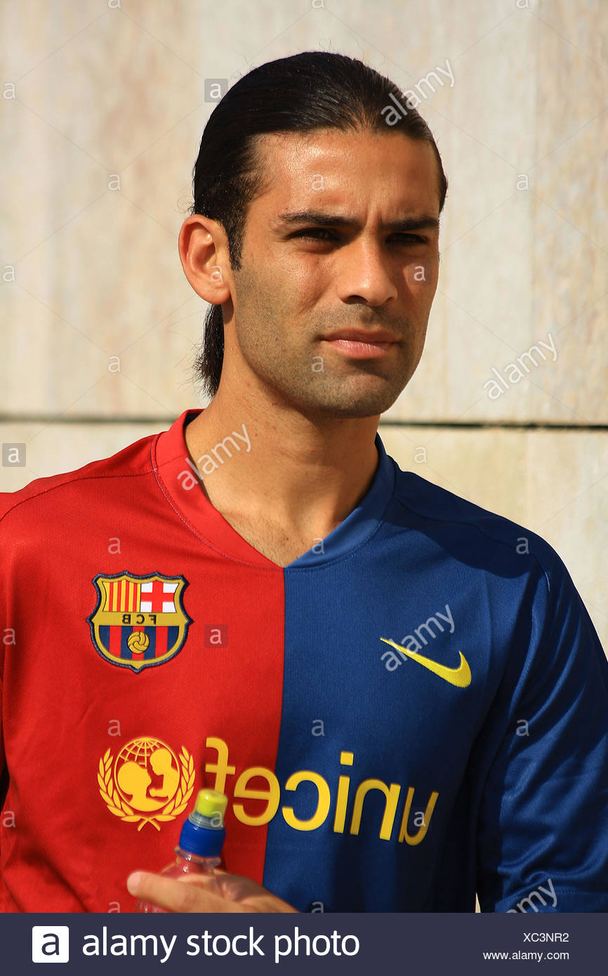 online store 009b4 6f667 Rafa Márquez, Mexican footballer playing for FC Barcelona in ...