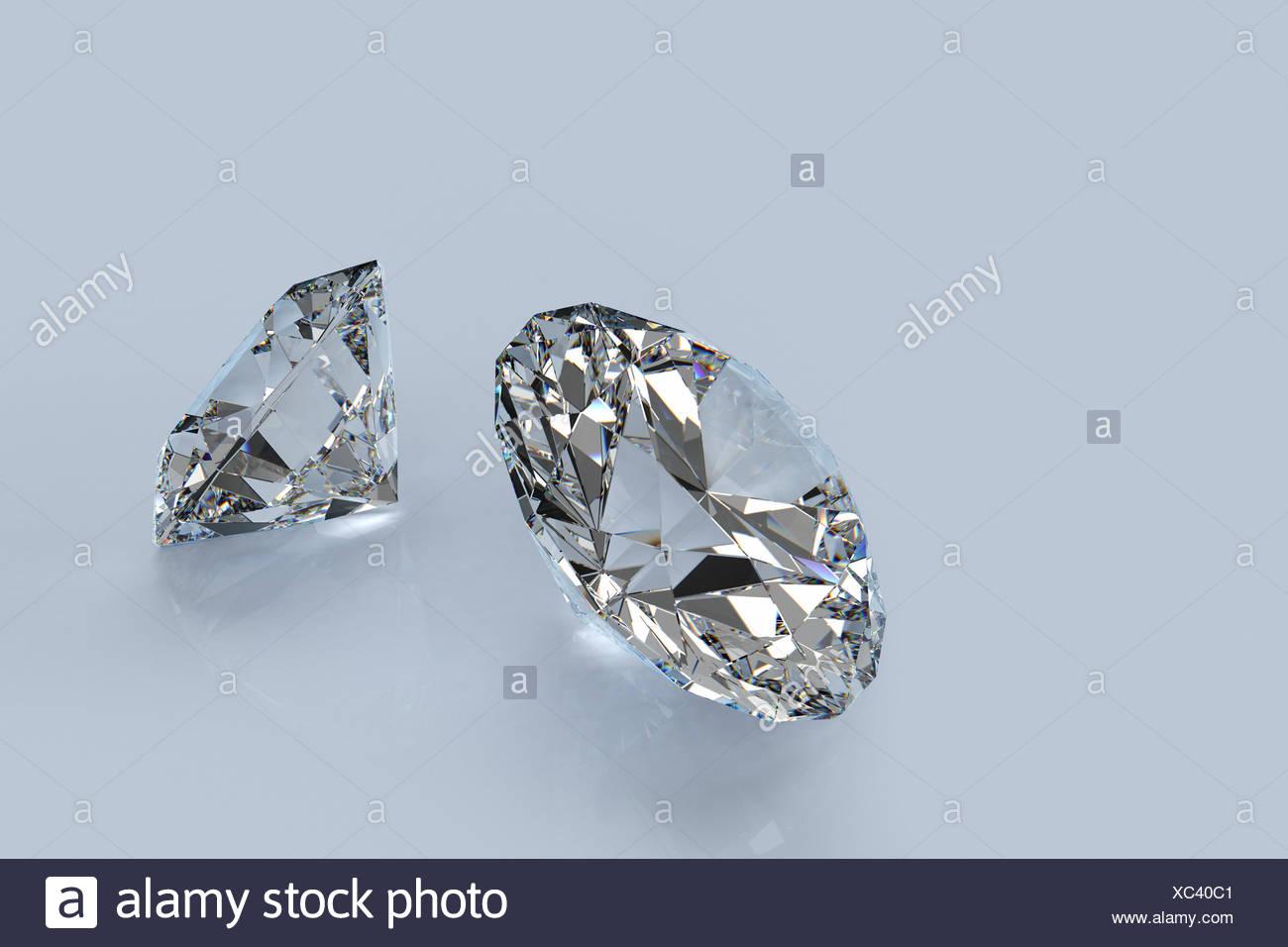 jewel diamond blaze - Stock Image
