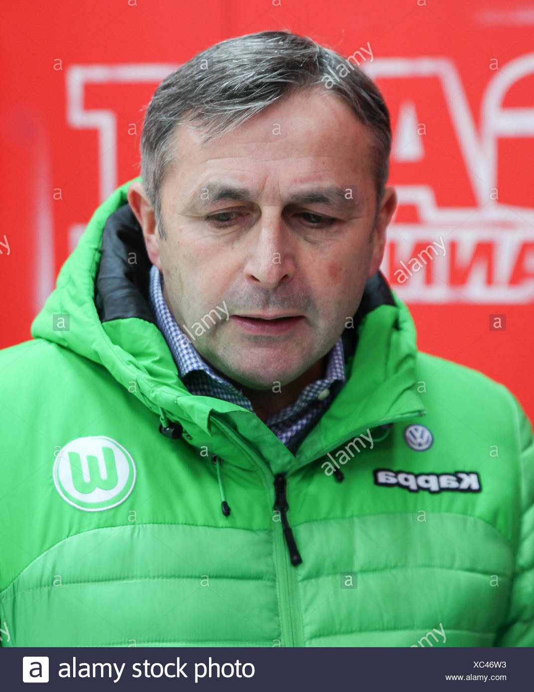 Klaus Allofs (VfL Wolfsburg) Stock Photo