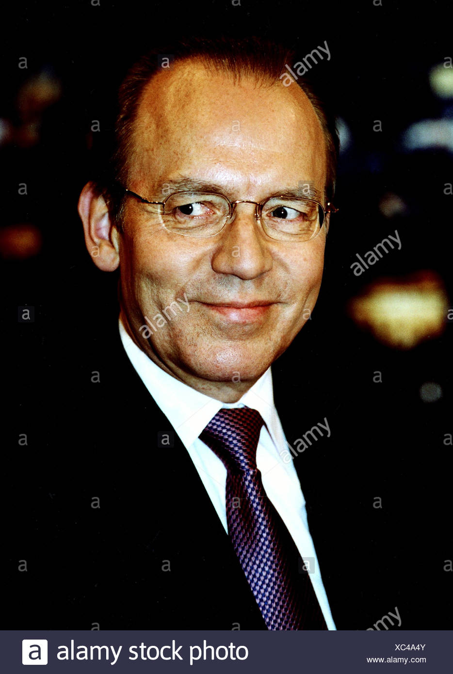 Gerster, Florian, * 7.5.1949, German politician (SPD), portrait, 2002, Additional-Rights-Clearances-NA - Stock Image