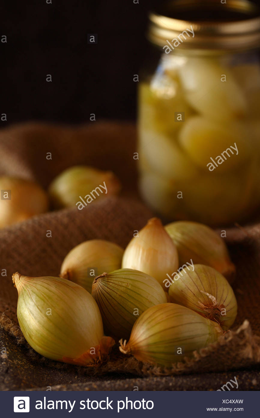 Pickled Onions Stock Photos & Pickled Onions Stock Images
