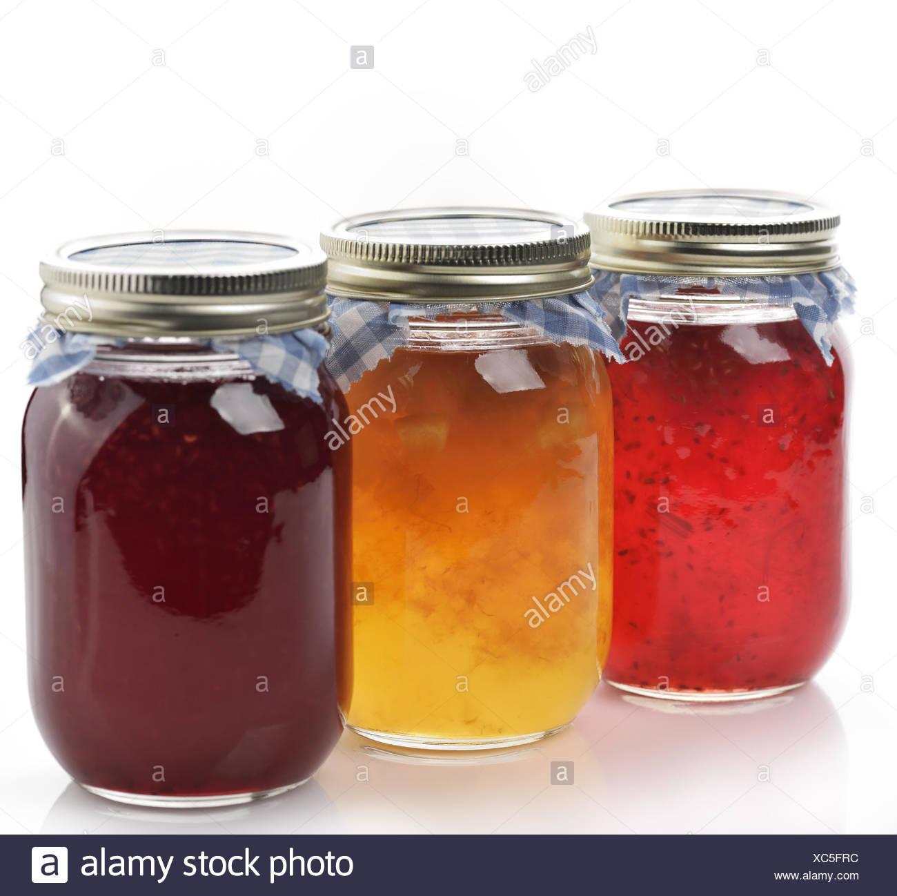 Homemade Marmalade And Jam
