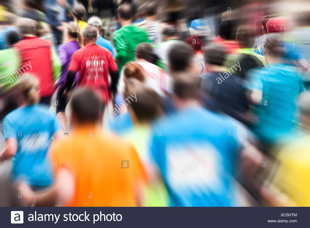 Runners - Stock Image