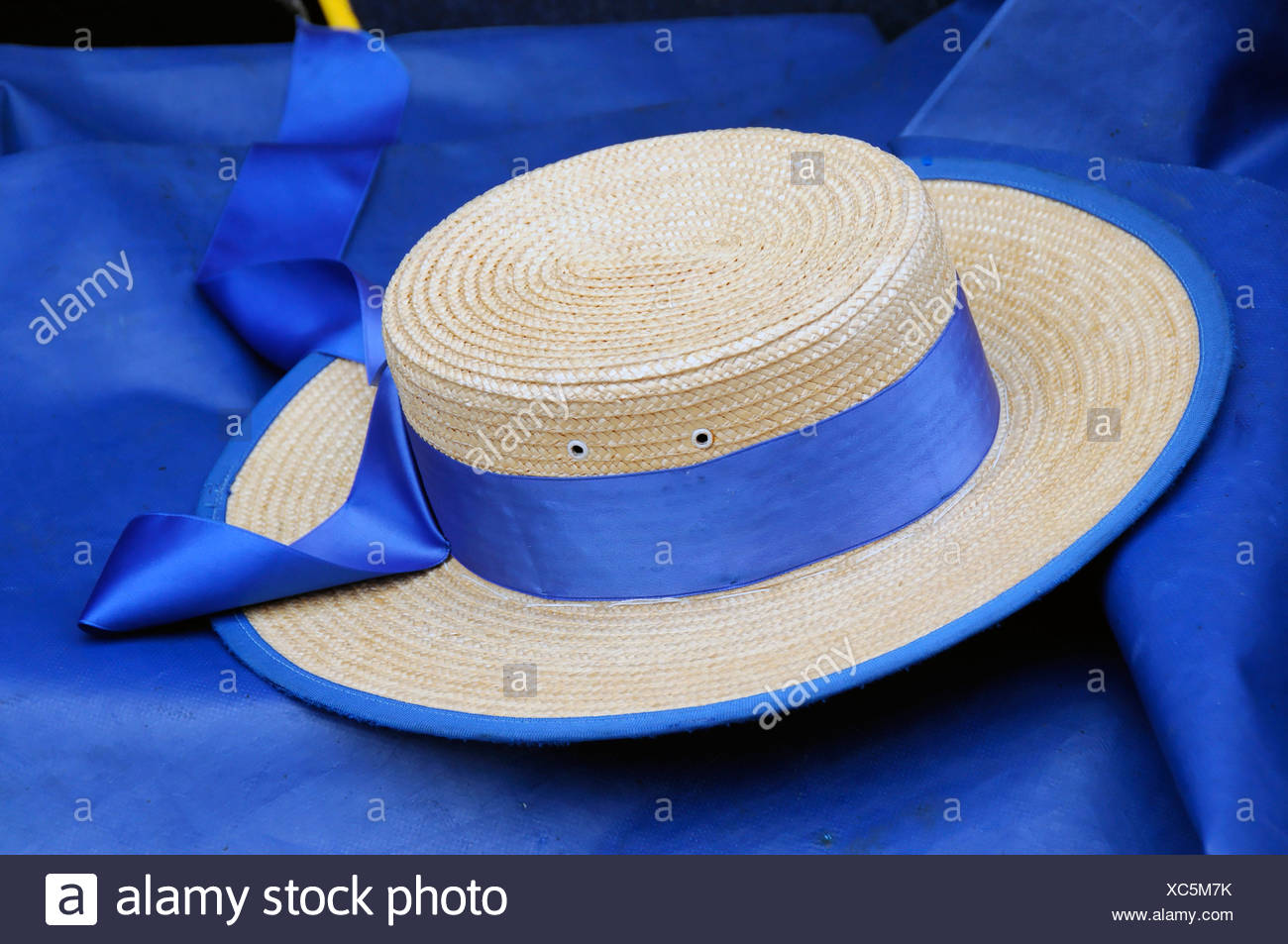 8a2b7d25dae Gondoliers Straw Hat Stock Photos   Gondoliers Straw Hat Stock ...