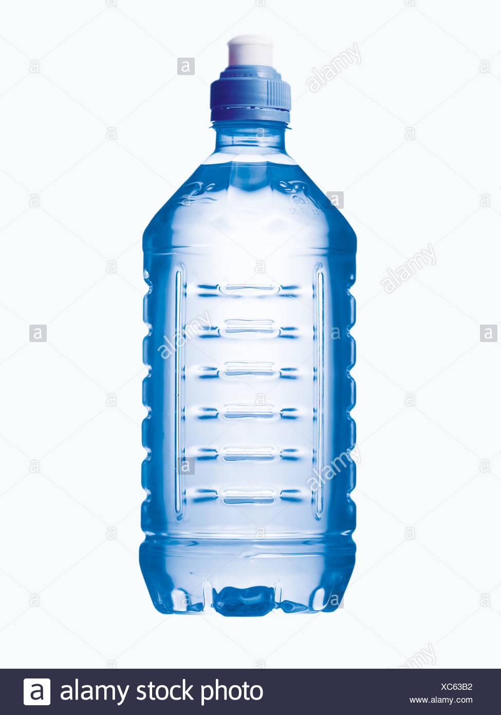 A water bottle - Stock Image