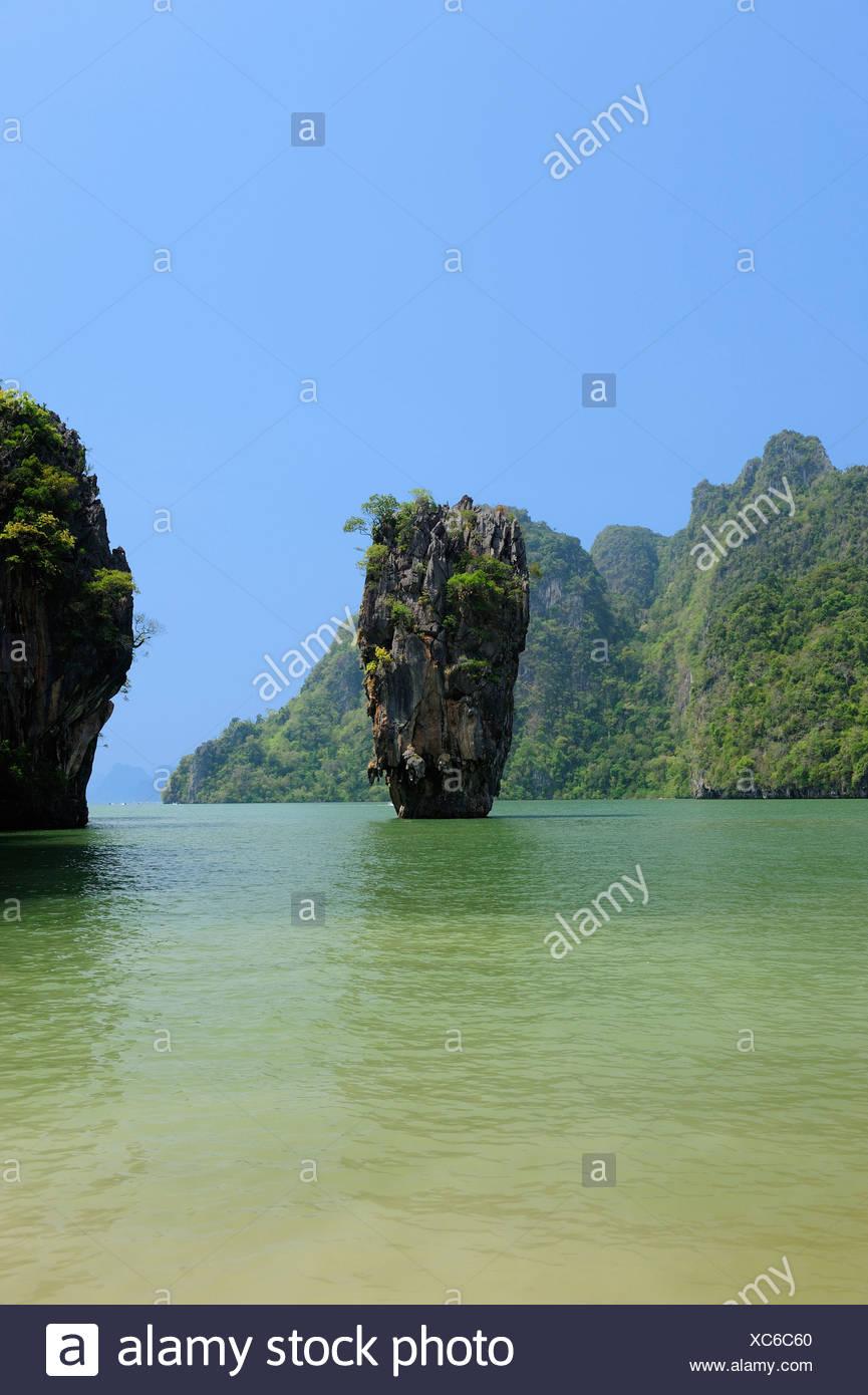 Koh Tapu James Bond Island Phang Nga Bay Marine National