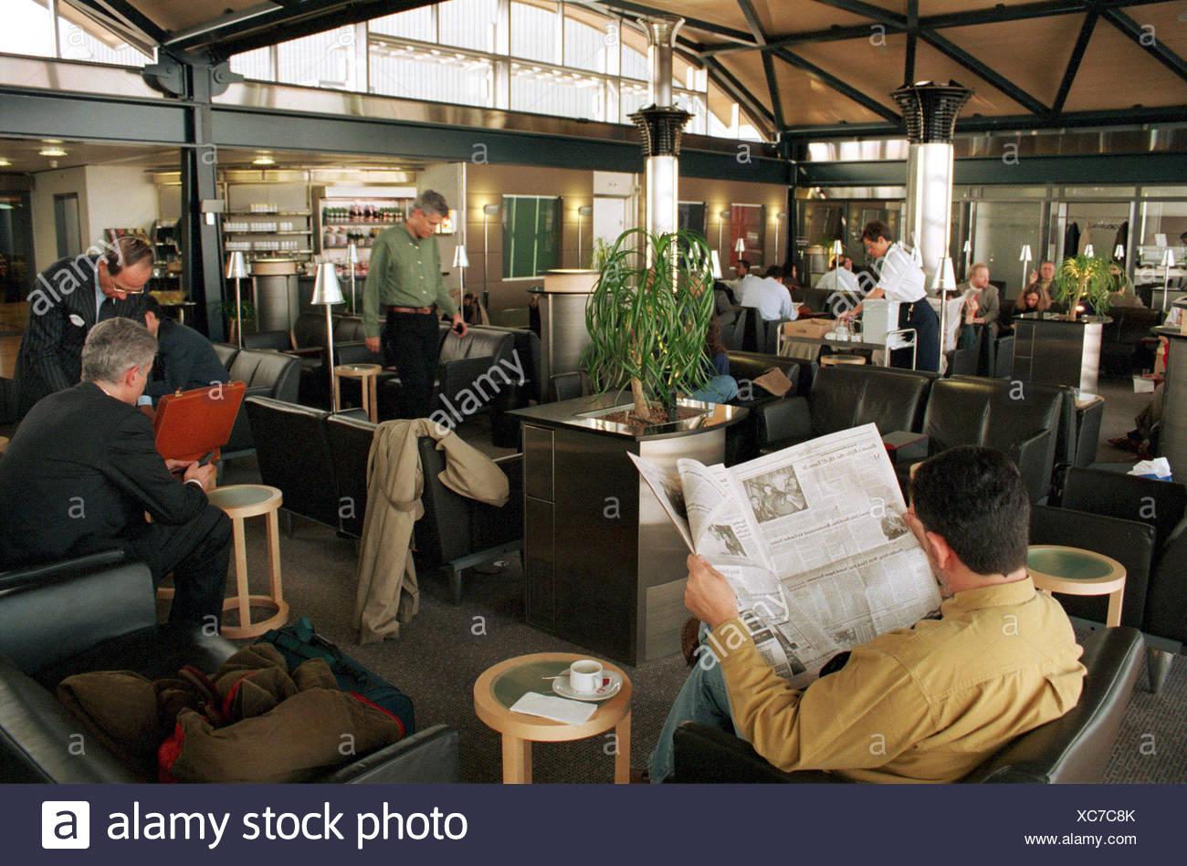 Switzerland, Zurich Airport Kloten - Stock Image