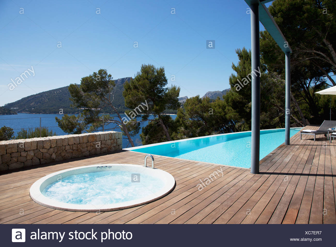 Hot Tub Garden Stock Photos & Hot Tub Garden Stock Images - Alamy