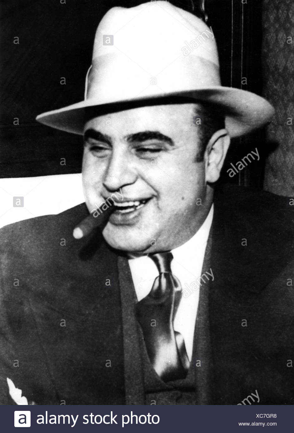 American Gangster Al Capone Gangster Stock Photos