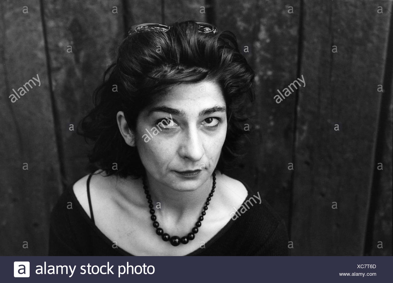 Feyrer, Gundi, * 1956, German author / writer, portrait, 1999, Additional-Rights-Clearances-NA - Stock Image