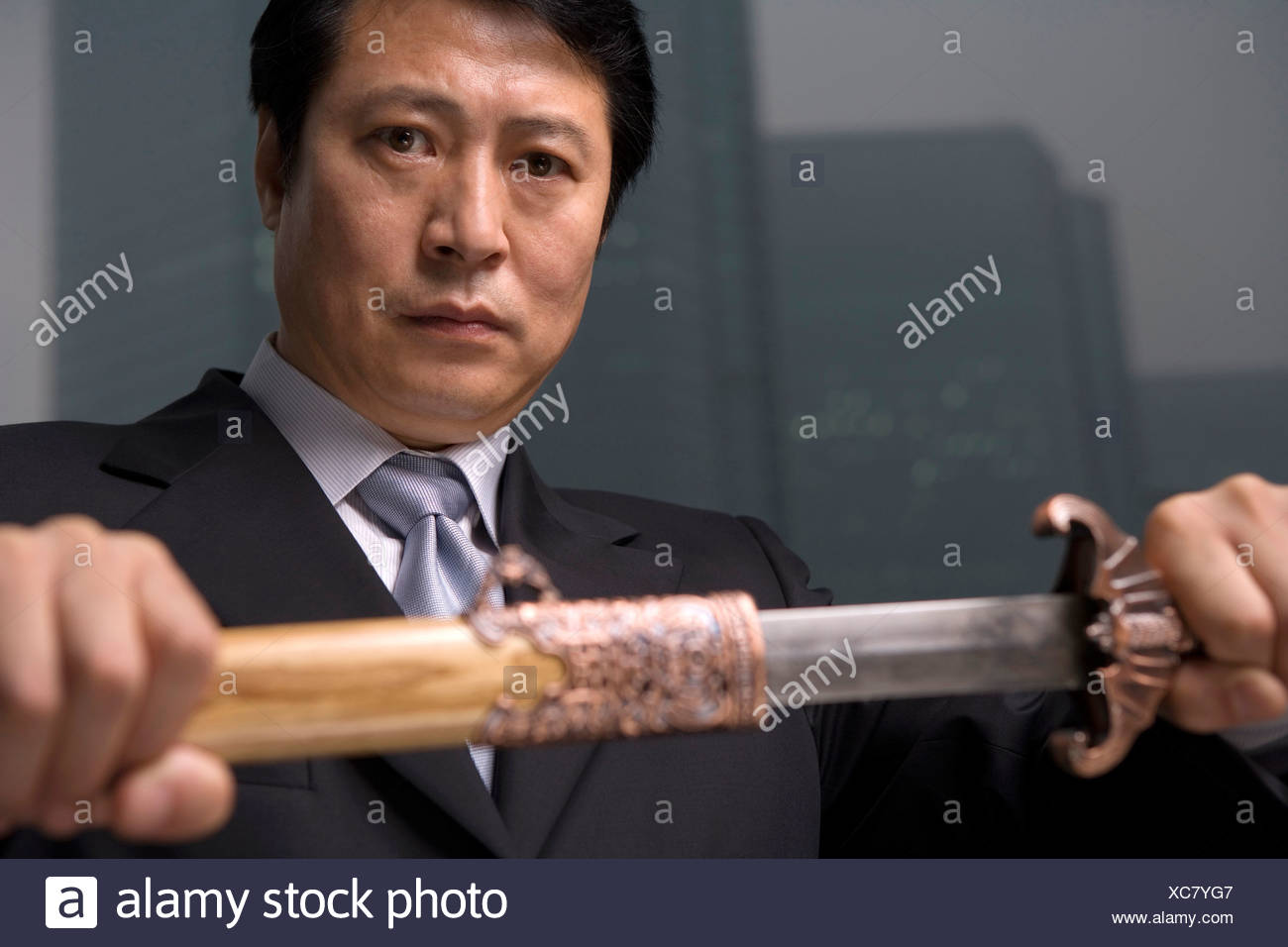 Business tactics - Stock Image