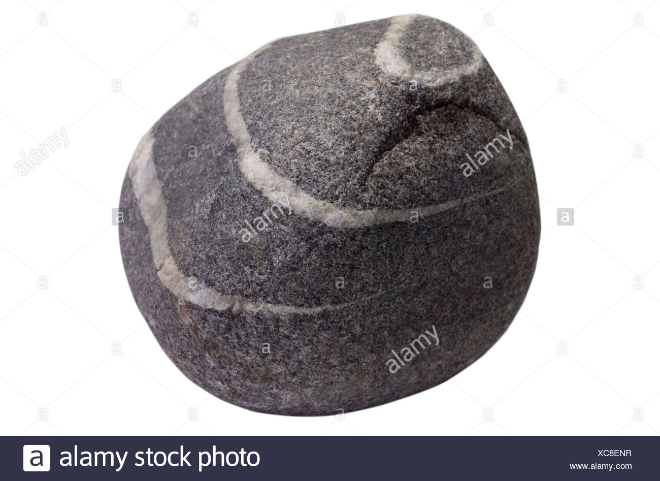 Close-up of pattern on stone - Stock Image