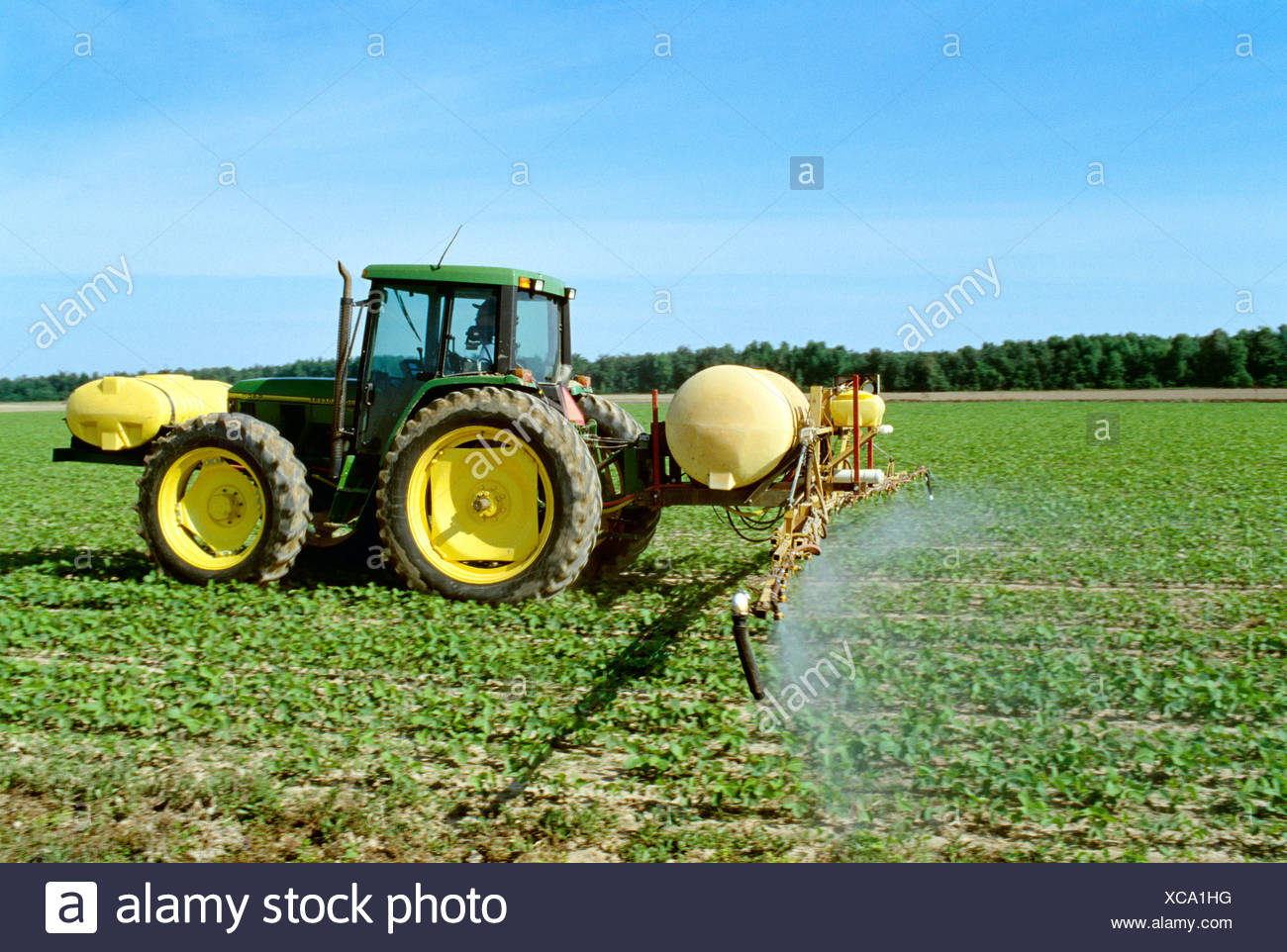Agriculture - Chemical application, applying post emergence