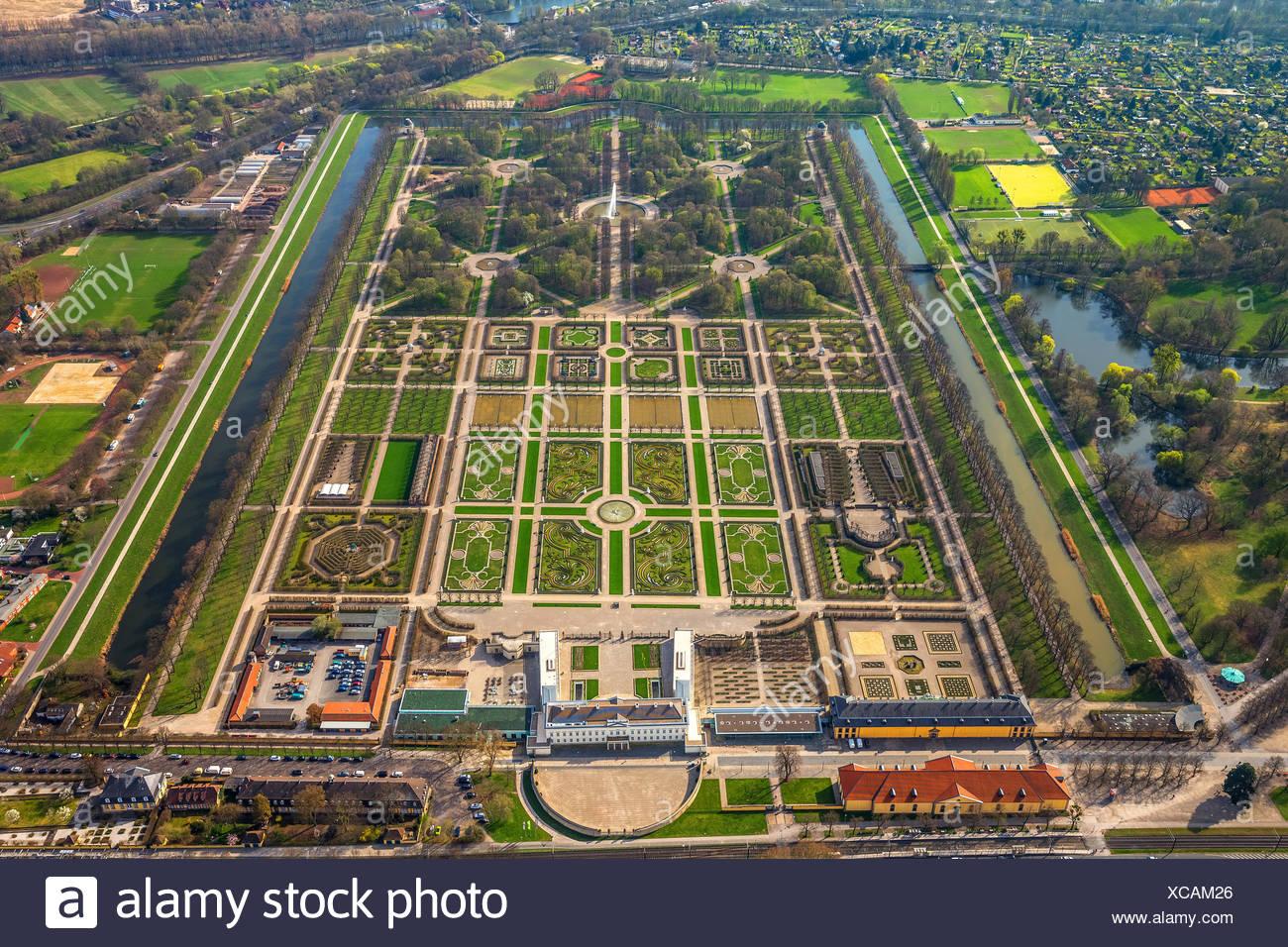 Baroque Garden Broderie Horticultural Art Großer Garten