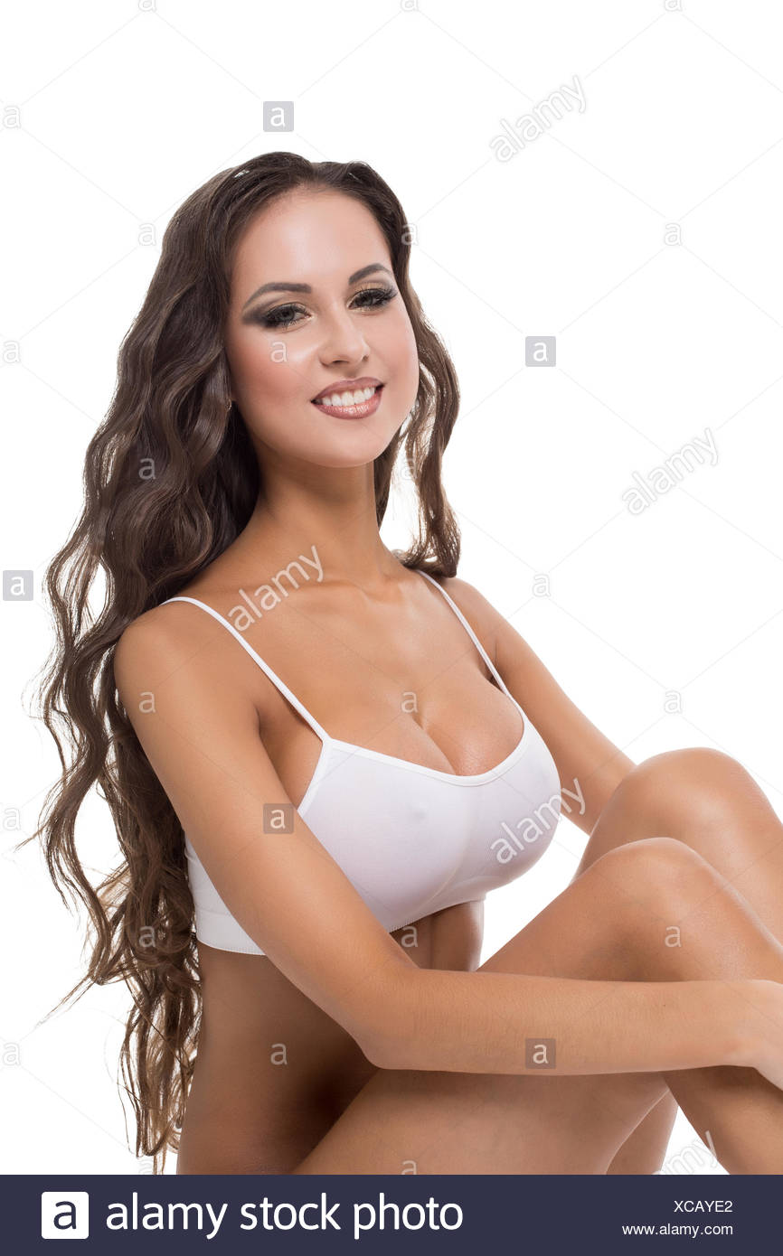 Busty model picture