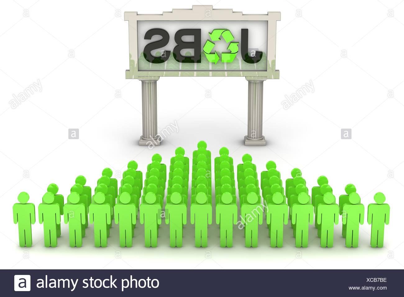 Green Jobs - Stock Image