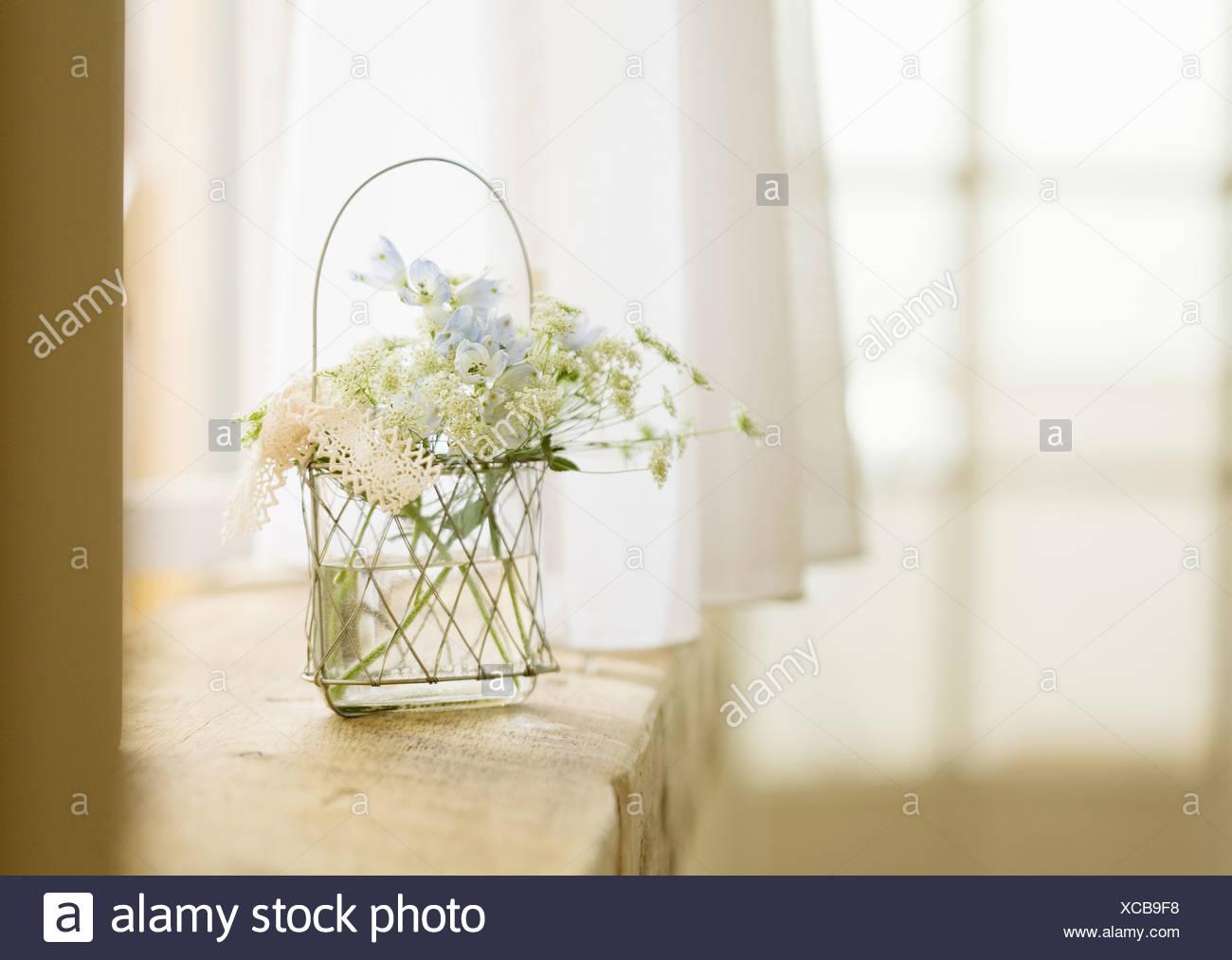 Flower arrangement - Stock Image