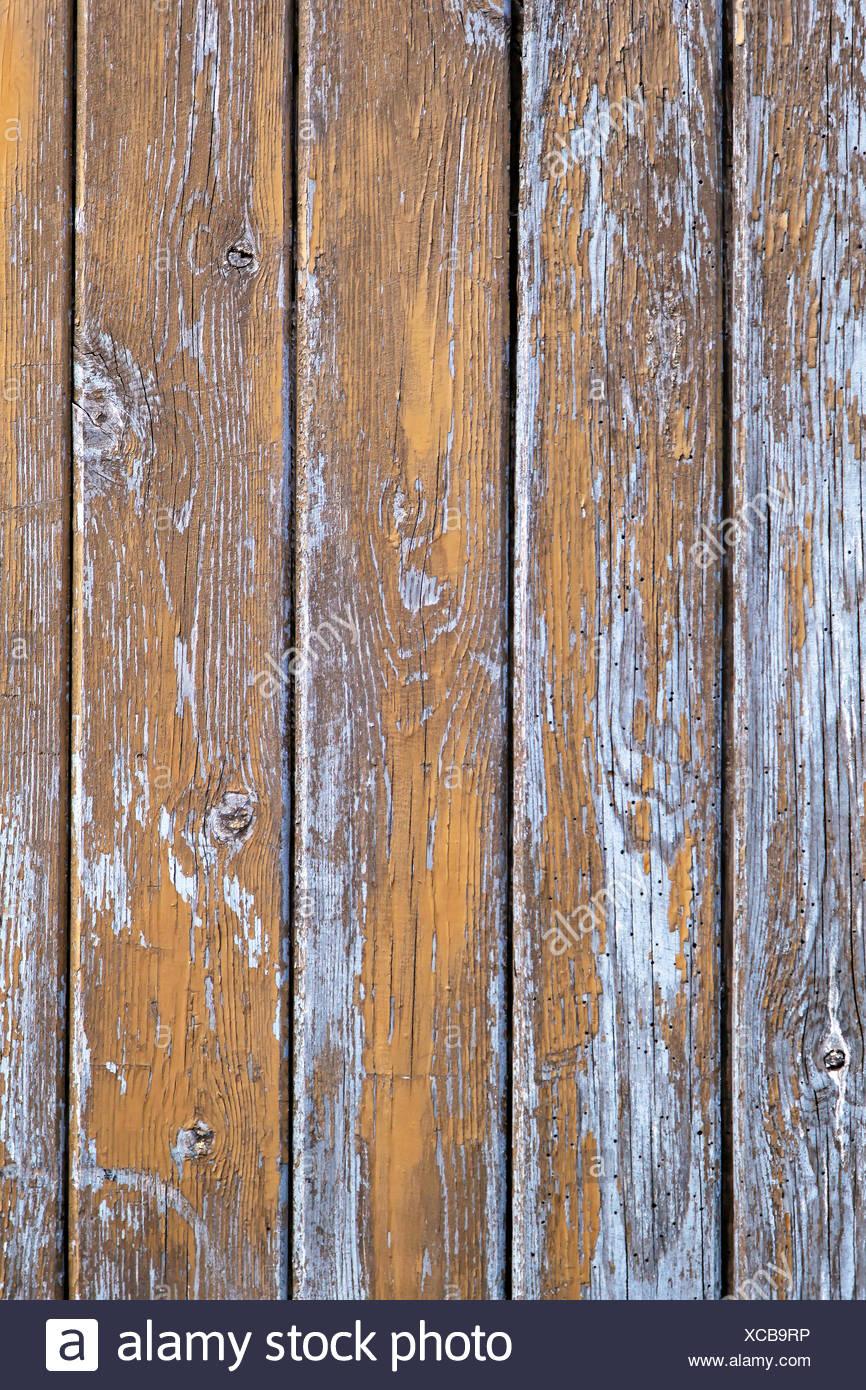 Grunge wood planks - Stock Image