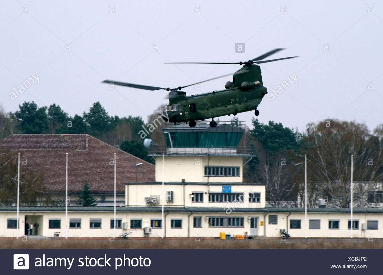transport helicopter - Stock Image