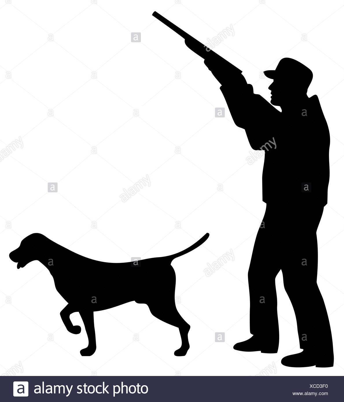 Картинки с охотником и собакой для рисунка шоколадом, красивые пожелания день
