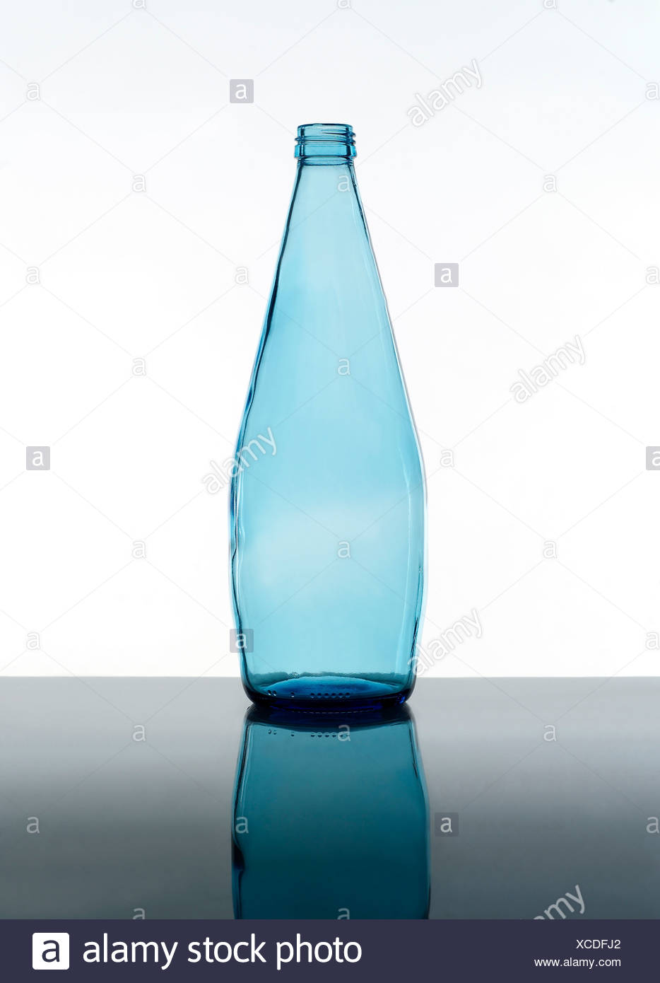 Blue Bottle - Stock Image