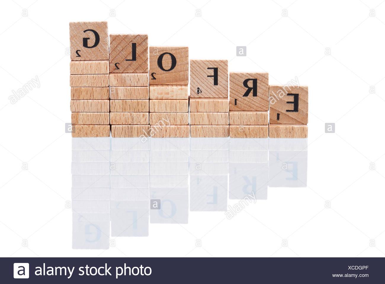 achievement ascent determined - Stock Image