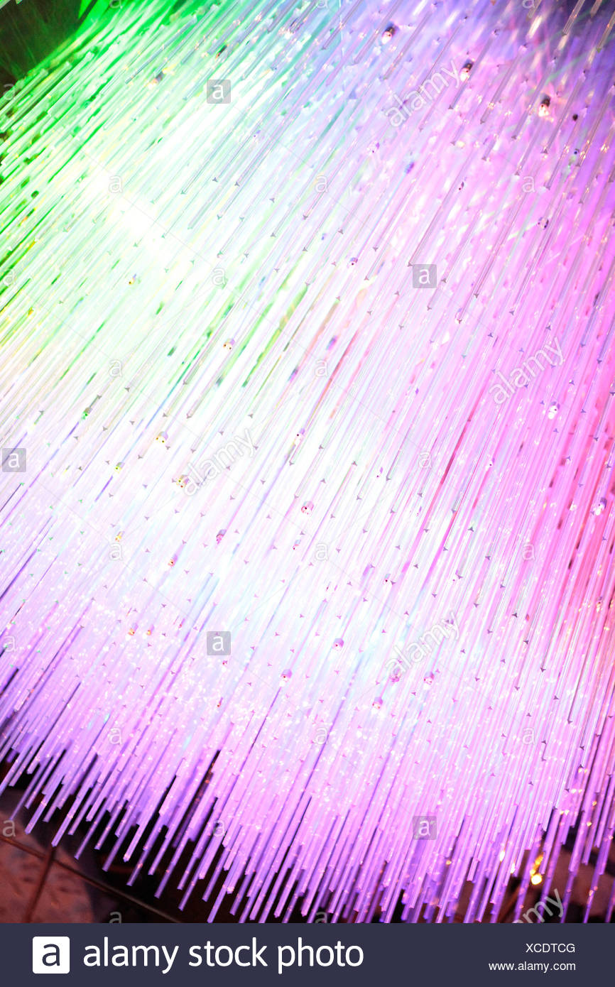 Fiber optics - Stock Image