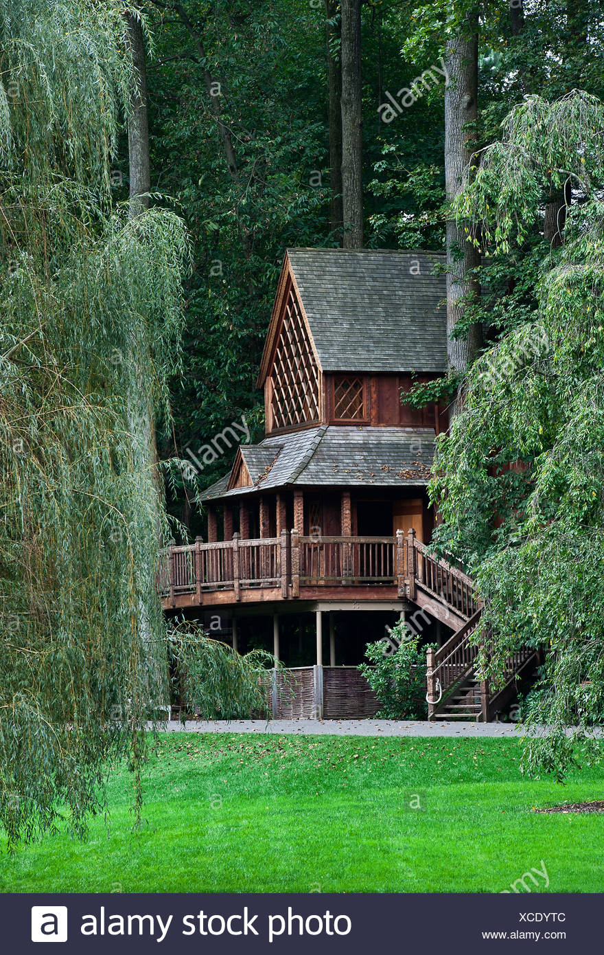 The Canopy Cathedral Treehouse At Longwood Gardens Pennsylvania