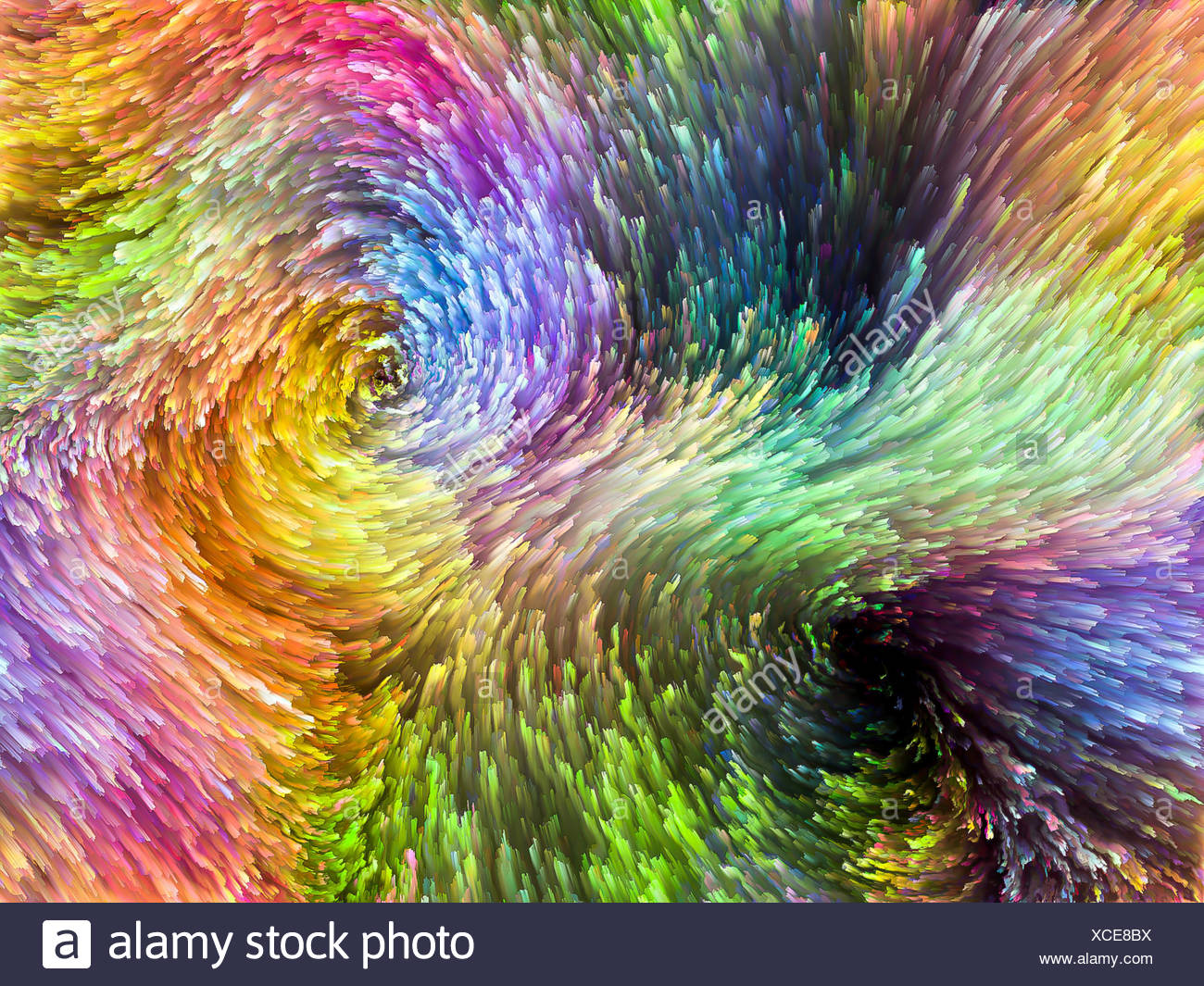 Color Burst - Stock Image