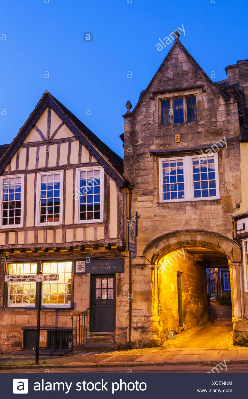 England, Oxfordshire, Cotswolds, Burford - Stock Image