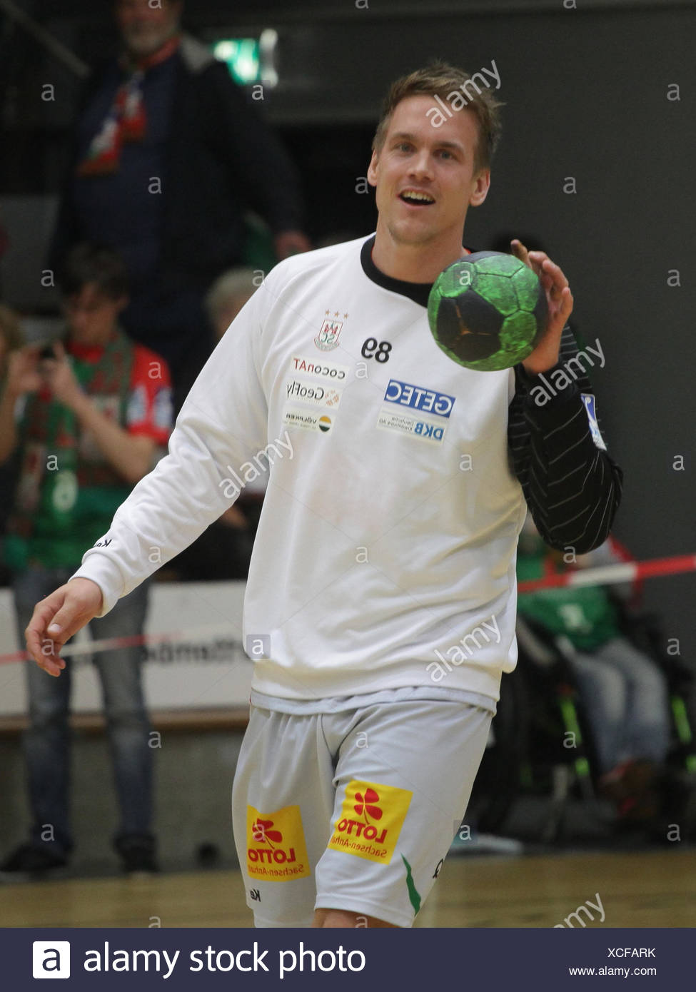 Espen Lie Hansen (SC Magdeburg) - Stock Image