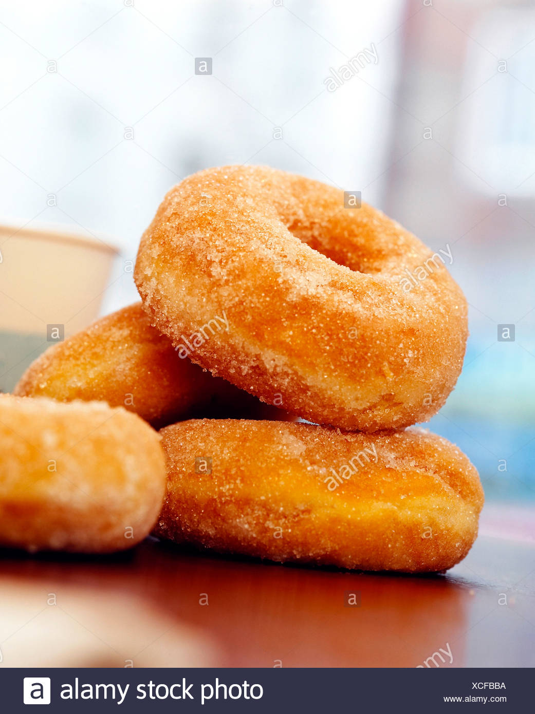 Donuts, close-up - Stock Image