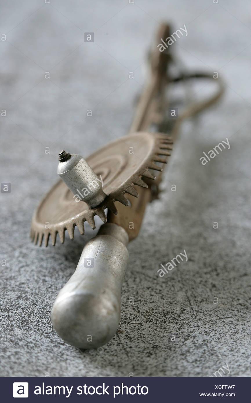 Old-fashioned bottle opener - Stock Image