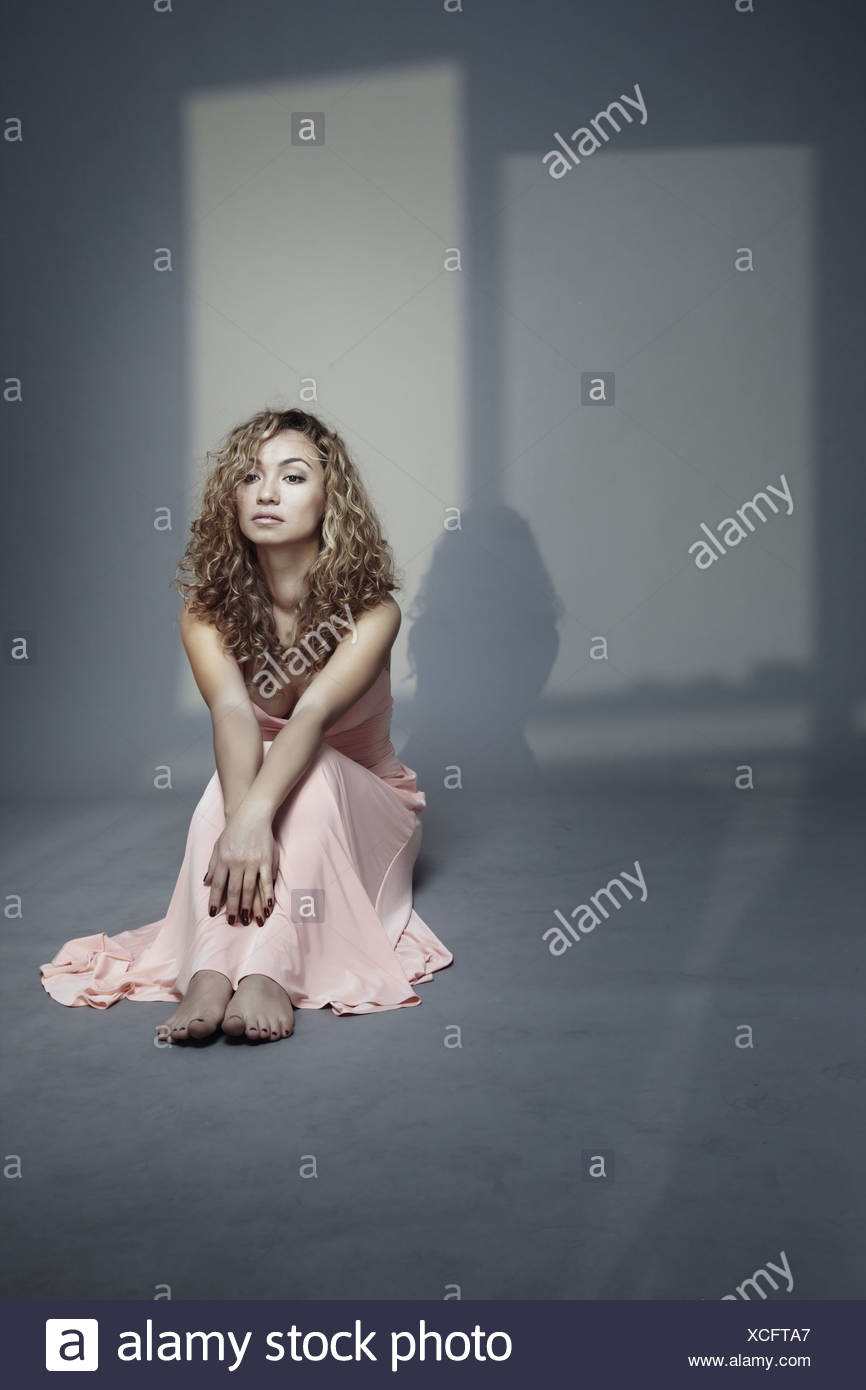 Talk with shadows - Stock Image
