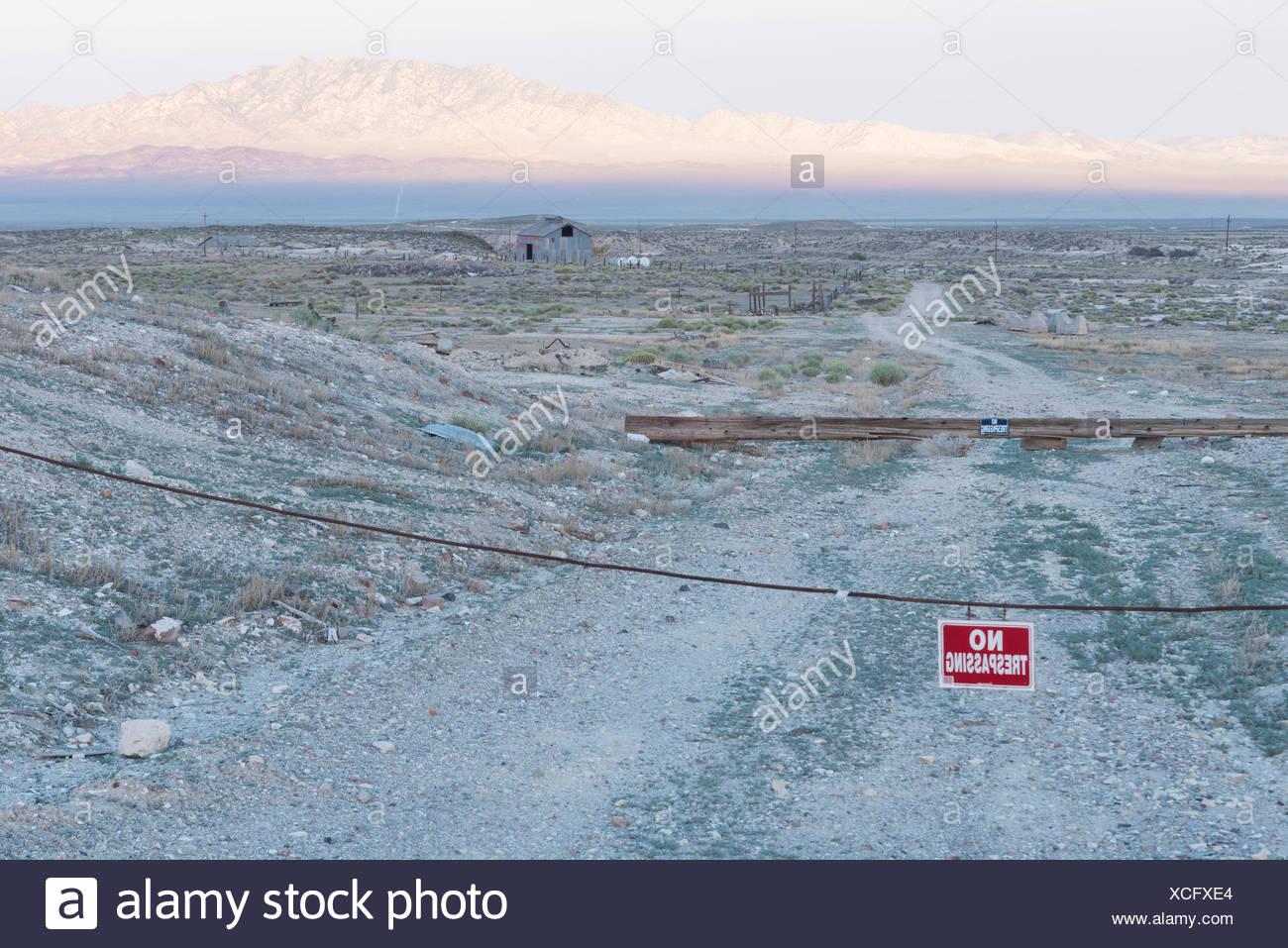 Nevada, Mineral County, Tonopah - Stock Image