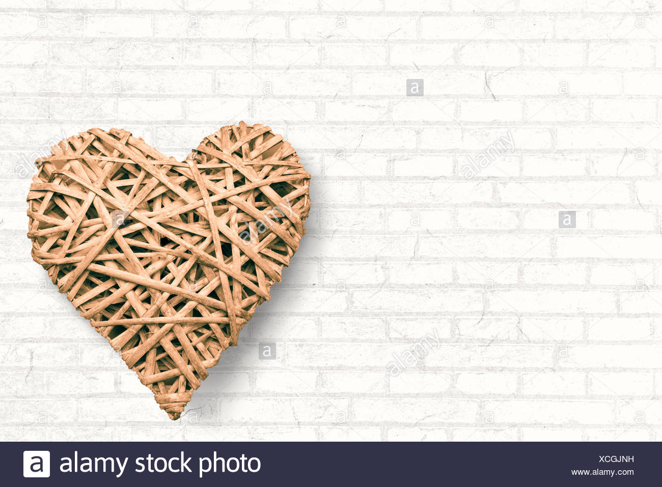Large heart Stock Photo