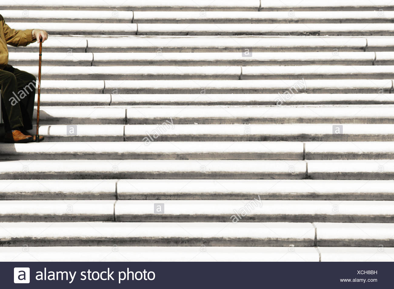 loneliness insulation age pensioner old age pensioner retiree retired person Stock Photo