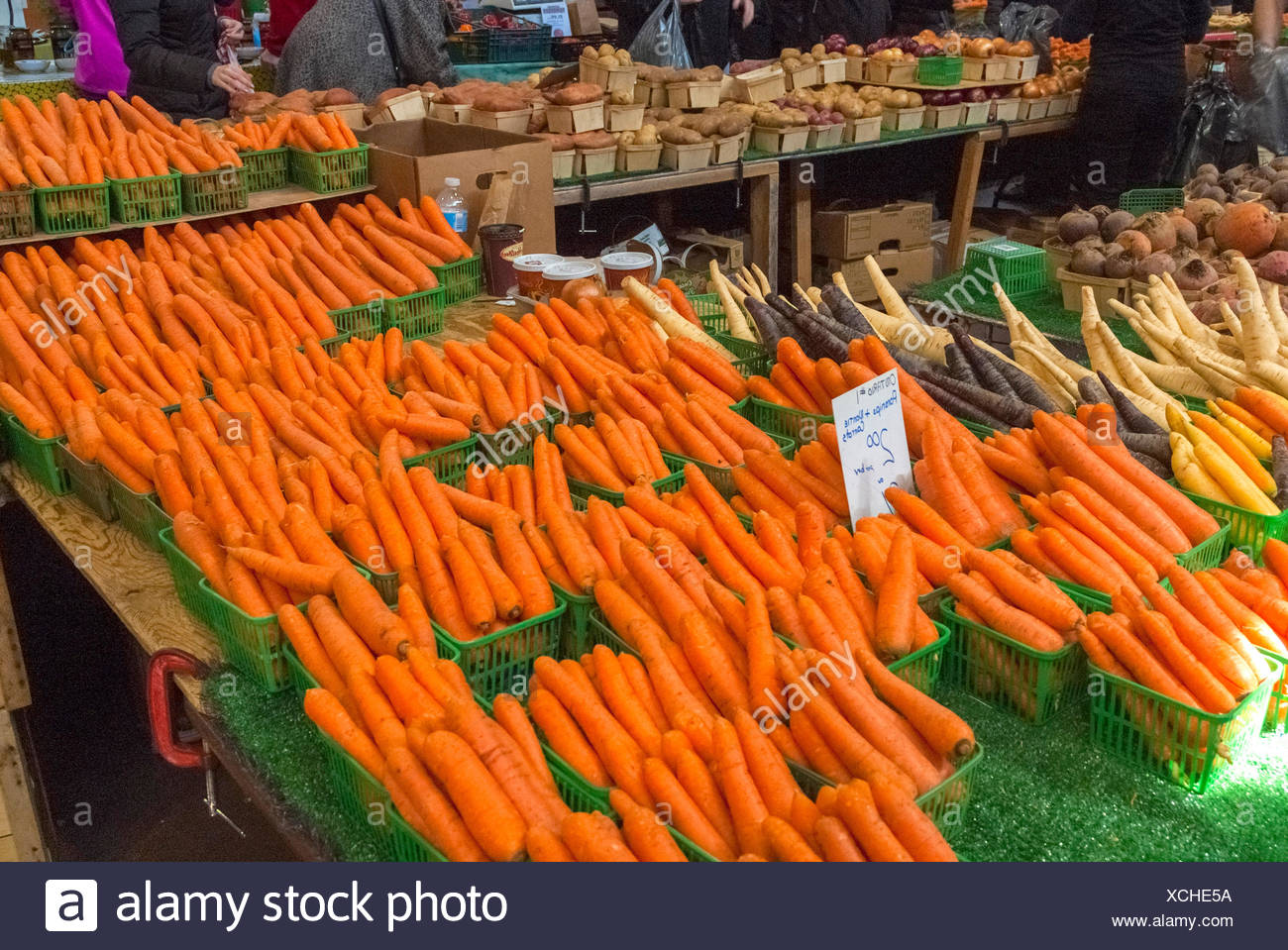 Toronto, Ontario, Canada :  St. Lawrence Market - Farmer's Market Kanada Bauernmarkt Stock Photo