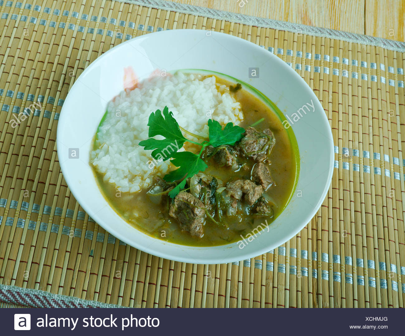 Guatemalan Shredded Beef - Stock Image