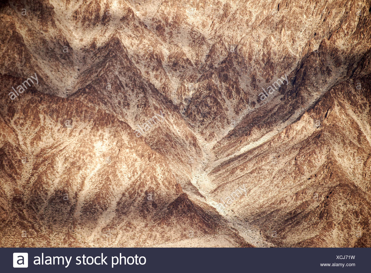 Die roten Felsen des Black Canyon am Hoover-Staudamm via Nahaufnahme. Stock Photo