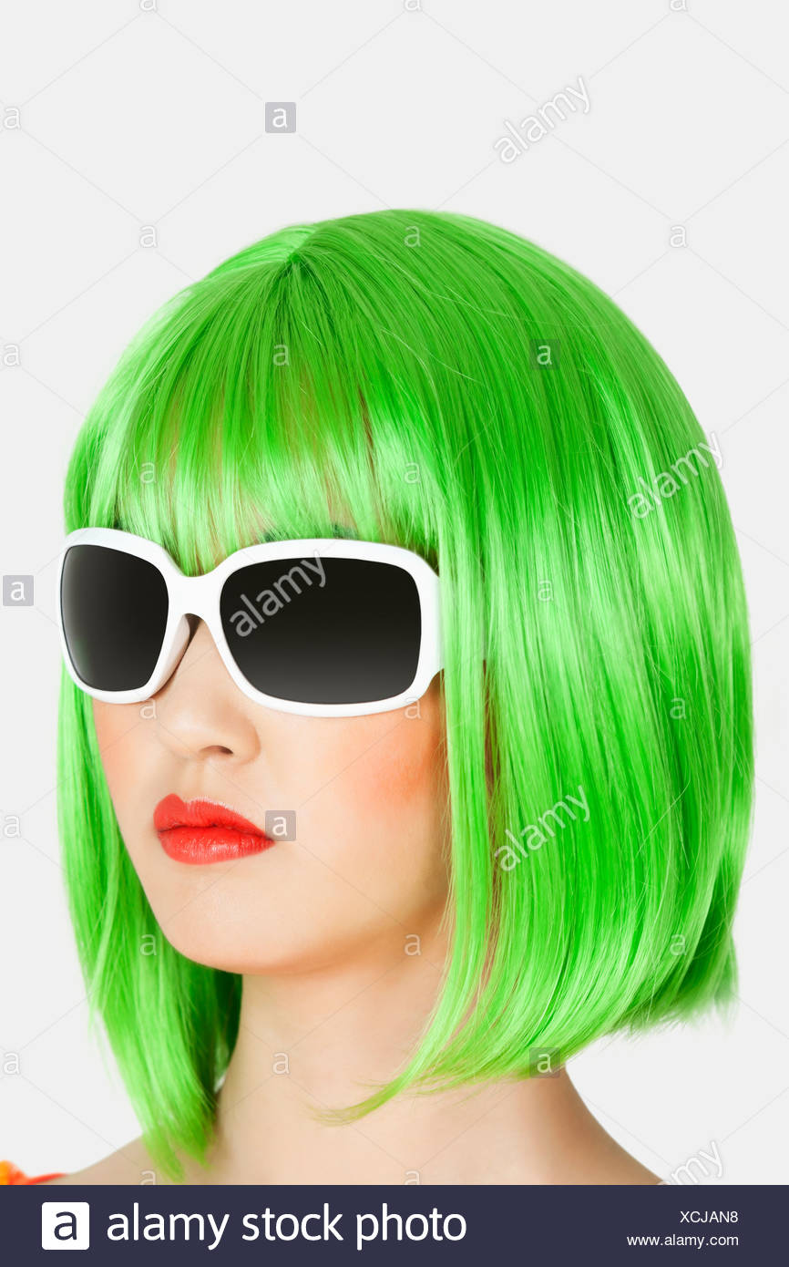 Green Wig Stock Photos   Green Wig Stock Images - Alamy 275467f57438