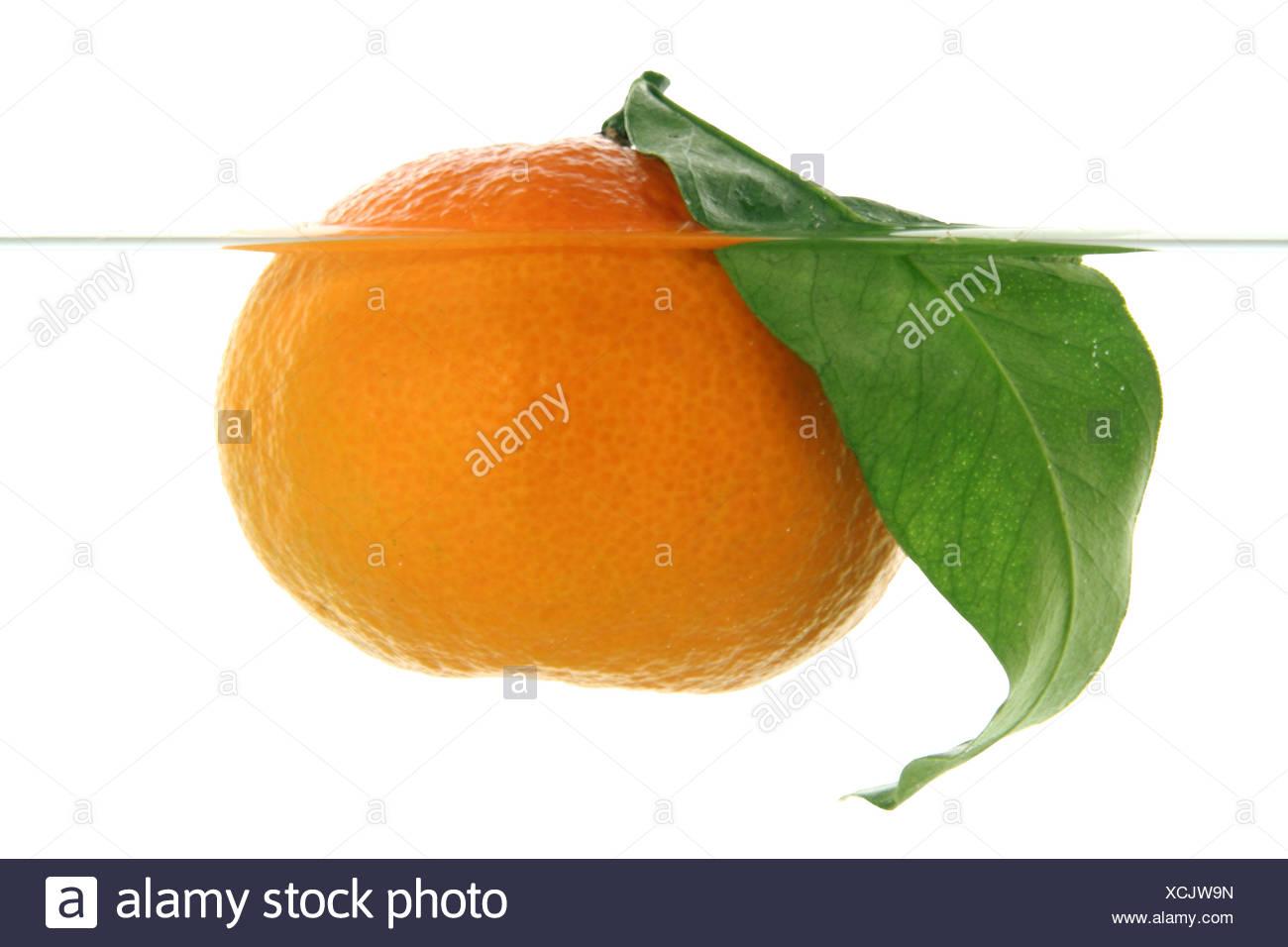 Mandarine - Stock Image