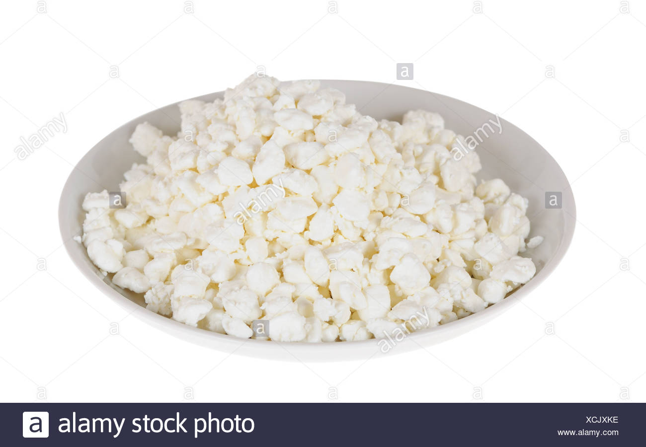 curd cheese - Stock Image