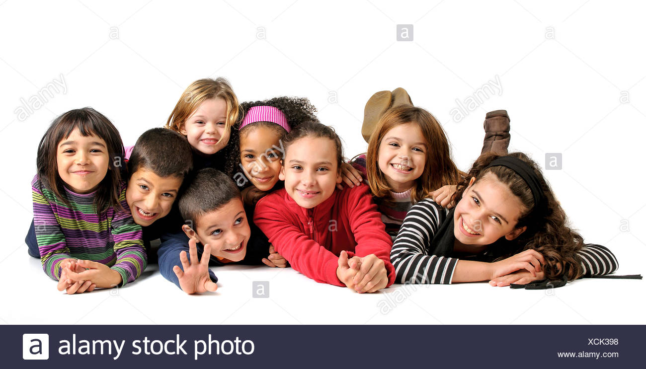 childhood delighted unambitious - Stock Image