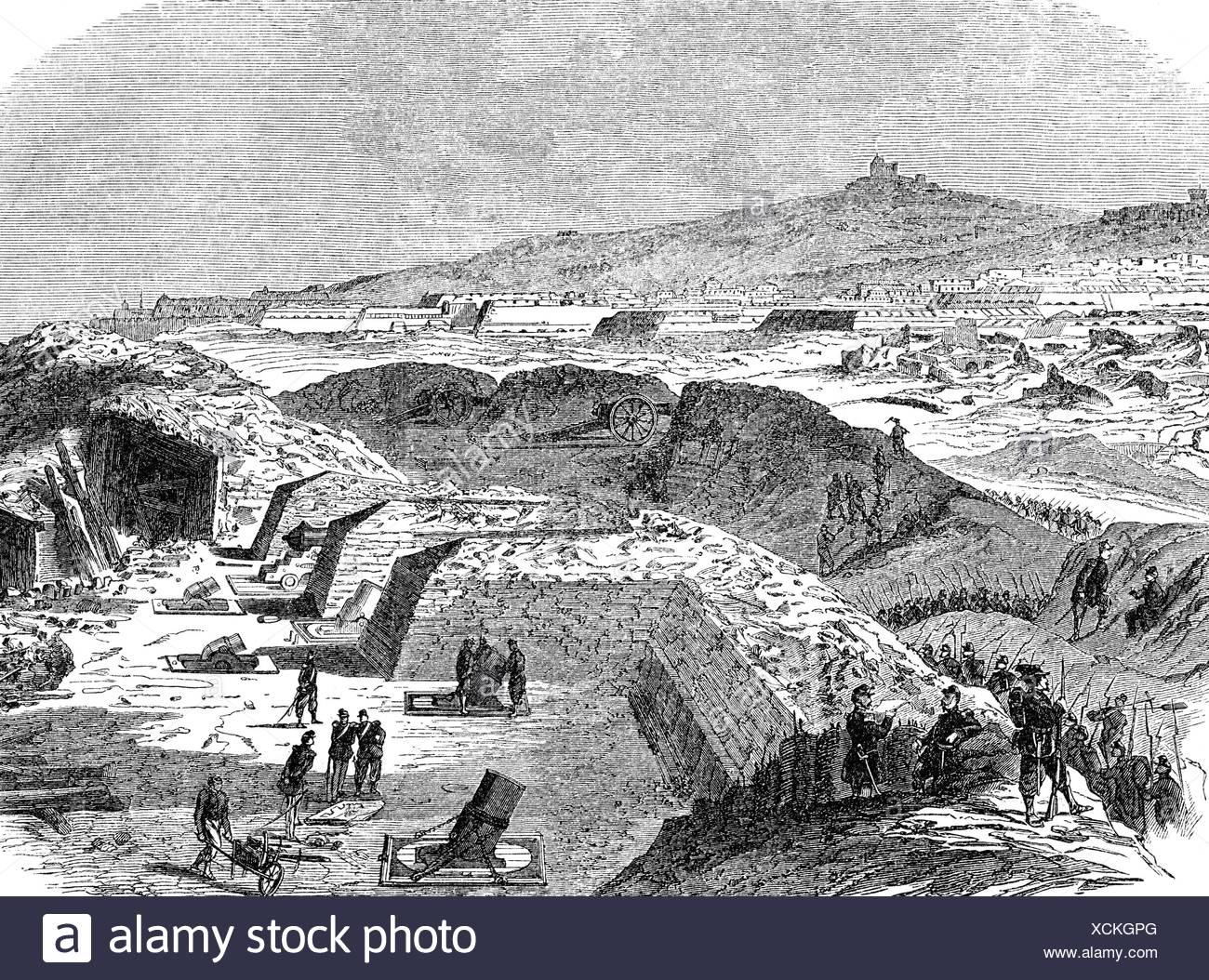 events-expedition-of-the-thousand-1860-siege-of-gaeta-5111860-1221861-wood-engraving-19th-century-XCKGPG.jpg